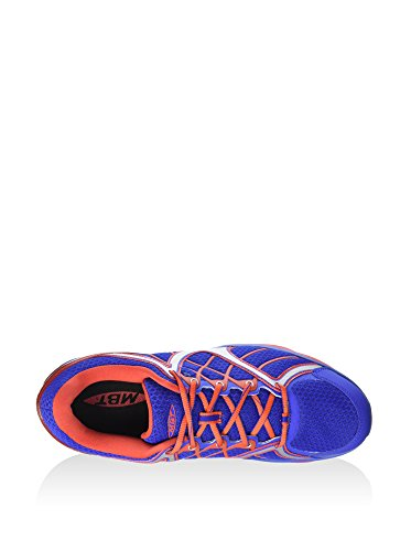 MBT Men's Jengo Sport Neutral M Fitness Shoes, Black Blue / Red