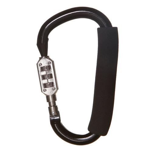 Dreambaby Stroller Carabiner with Combination Lock, Large