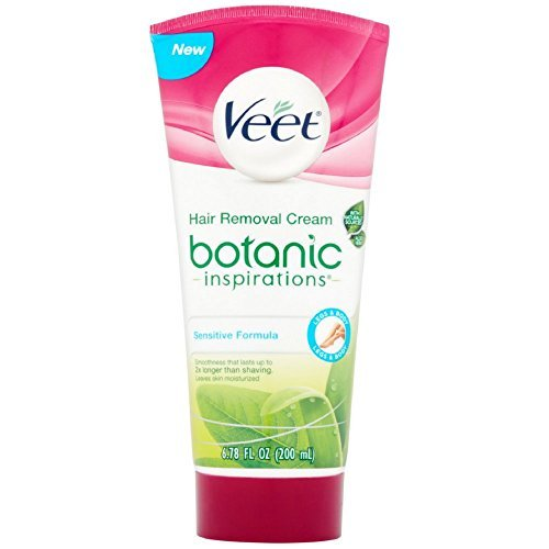 Veet Botanic Inspirations Gel Cream, 6.78 oz., for Legs & Body (Pack of 18) by Veet