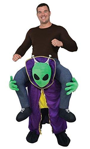 Forum Men's Ride-an-Alien Deluxe Costume, As Shown,