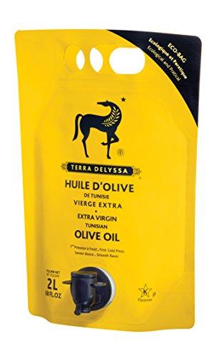 Case Olive Oil (Terra Delyssa Extra Virgin Olive Oil 2 Liter Bag (1 Item Per Order, not per case))
