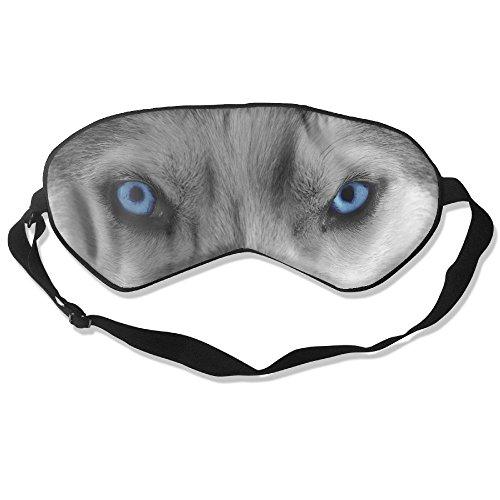 Sleep Mask Wolf Eyes Eye Cover Blackout Eye Masks,Soothing Puffy Eyes,Dark Circles,Stress,Breathable Blindfold For Women Men by MB32