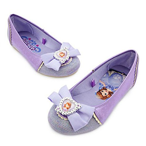 [Sofia Costume Shoes for Kids] (Sofia The First Dress Up Costume)