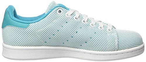 Zapatillas Smith Blanco J Niño Para Stan Adidas Turquesa wP7qA