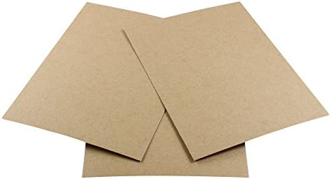 HGP 8 1//2 x 11 Single Chipboard Sheet for Arts and Crafts Scrapbooking Backing Mounting Board Picture Framing Shipping Cardboard