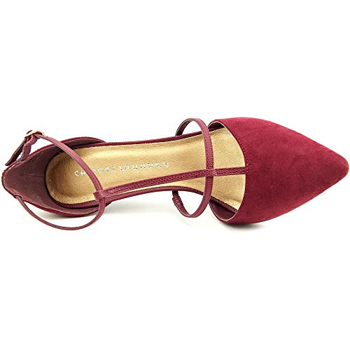 Chinese Laundry Womens Stand Tall Merlot Micro Suede 011TLR