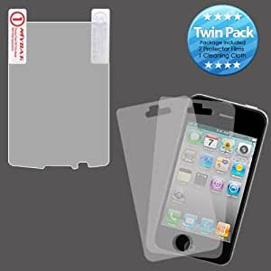 Clear Twin Pack Screen Protector for BlackBerry Torch 9800 9810 Y51I