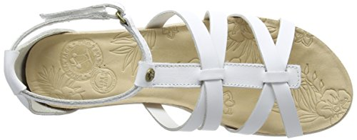PANAMA JACK Marisa - Sandalias de tobillo Mujer Blanco - blanco (blanco)