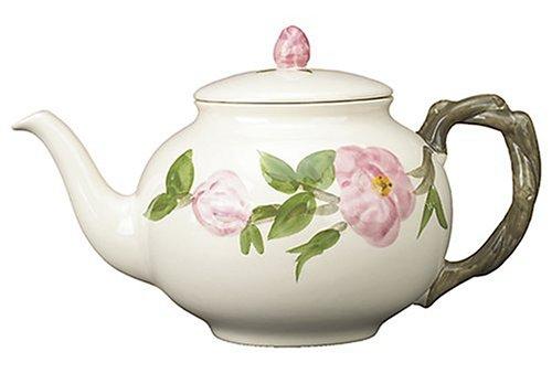 Franciscan Desert Rose Teapot (Franciscan Desert Rose Pattern)