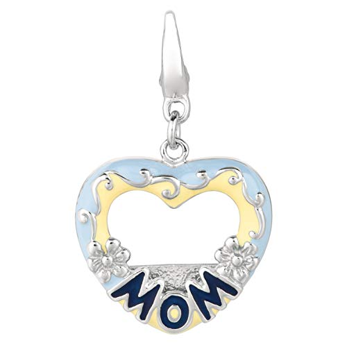 - AME Unique and Beautiful 925 Sterling Silver Charms for Women; Cute Charms