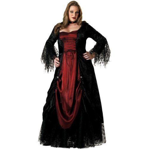 Women's Plus Size Vampire Costume - 3X