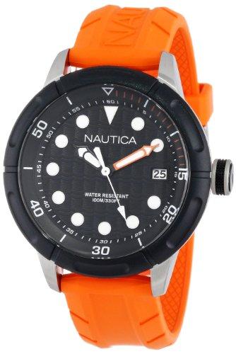 Nautica Unisex N16598G NMX 601 Classic Analog with Enamel Bezel Watch
