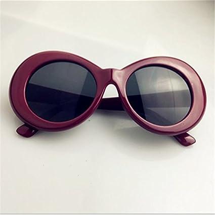 a65fdca086 BuyWorld UVLAIK Clout Goggles Nirvana Kurt Cobain Round Sunglasses for Women  Mirror Glasses Retro Female Male Sun Glasses UV400  Amazon.in  Home    Kitchen