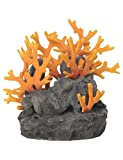 BiOrb 46123.0 Lava Rock with Fire Coral Ornament Aquariums