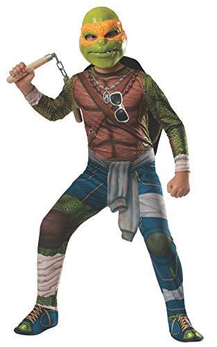 Rubies Teenage Mutant Ninja Turtles Child Michelangelo Costume, Medium -