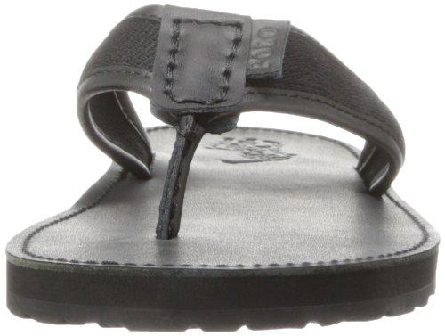 Polo Ralph Lauren Mens Sullivan Flip-flop Polo Nero / Nero