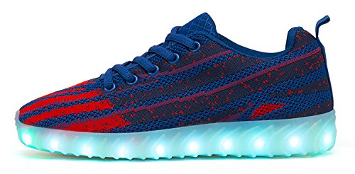 Recrec Ultra-durable Led Shoes Azul Marino