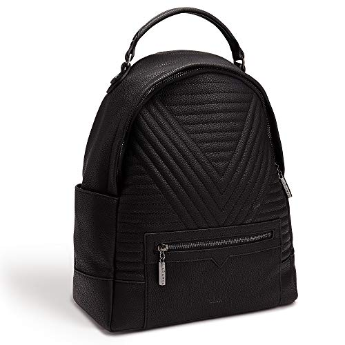 ced47fe29514 LaBante -Camberwell- Vegan Leather Backpack for women - black backpack cute  backpacks for girls