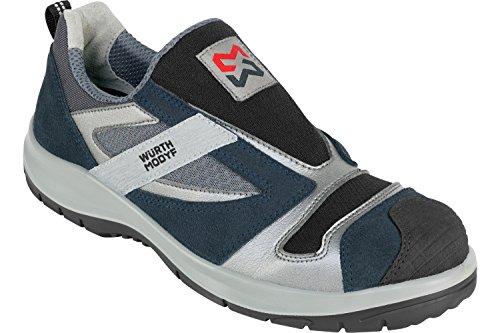 X Chaussures MODYF sans Stretch sécurité Lacets Würth de Bleues YddwfO