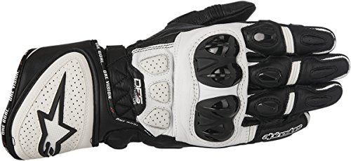 Alpinestars GP Plus R Leather Gloves (Black/White, XXX-Large) 3556517123X by Alpinestars