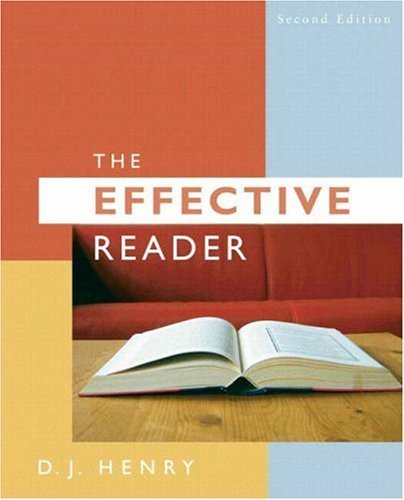 Effective Reader, The (with MyReadingLab Access Code Card) (2nd Edition) (Pearson English Value Textbook Series)