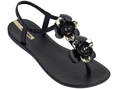 Ipanema Floret Women's Sandals, Black/Gold (6 US)]()
