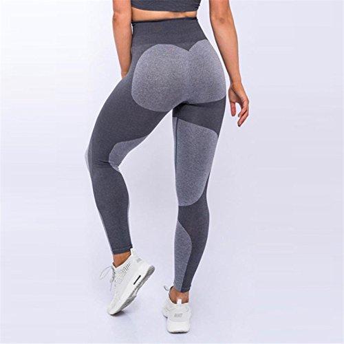 Xuanytp Pantalon de yoga Push-Ups Fitness Taille Haute Élastique Femelle Leggings Fitness Dames Aventure Temps Leggings Sport