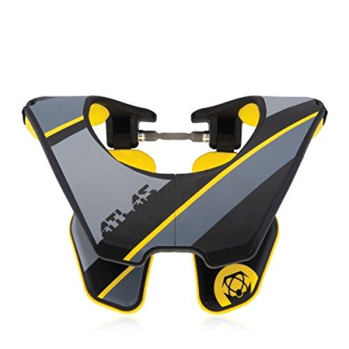 Atlas Tyke Brace Youth Kid Neck Brace Zap Black Motocross MX Protection by Atlas