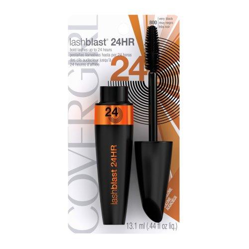 CoverGirl Lashblast 24 Hour Mascara, Very Black 800, 0.44 Fluid Ounce by CoverGirl: Amazon.es: Belleza