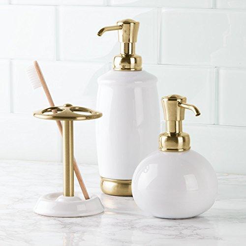 Interdesign York Ceramic Soap Dispenser Pump For Kitchen