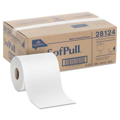 Georgia Pacific Professional - Center-Pull Perforated Paper Towels 7 4/5 X 15 White 320/Roll 6 Rolls/Carton Product Category: Breakroom And Janitorial/Restroom Hand Towels