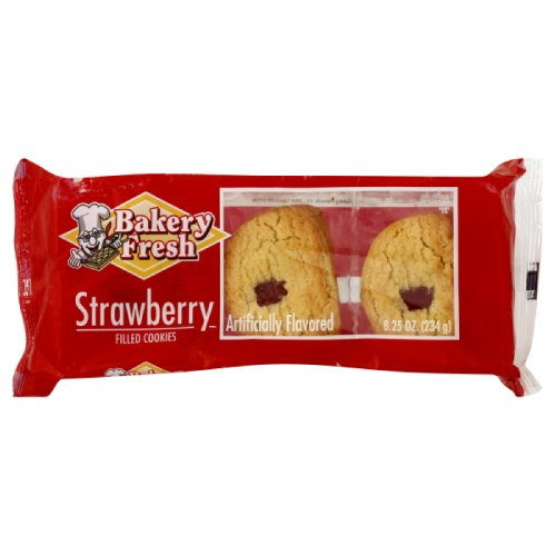 UPC 076081990011, Bakery Fresh Soft Strawberry Cookie, 8.25-Ounce (Pack of 18)
