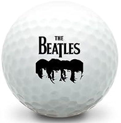 3 Dozen ( The Beatles Fab Four Logo) Titleist Pro V1 Mint / AAAAA Used Golf Balls