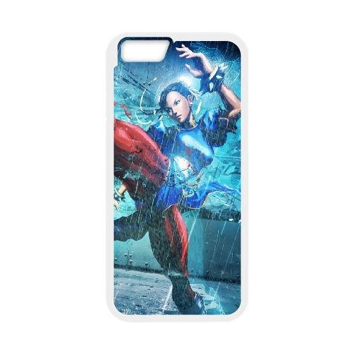 Street Fighter X Tekken, Girl, Chun Li, Legs, Fighter, Muscle coque iPhone 6 4.7 Inch cellulaire cas coque de téléphone cas blanche couverture de téléphone portable EEECBCAAN04540