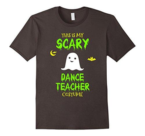 Dance Costumes For Teachers (Mens Scary Dance Teacher Costume Halloween T-Shirt Large Asphalt)