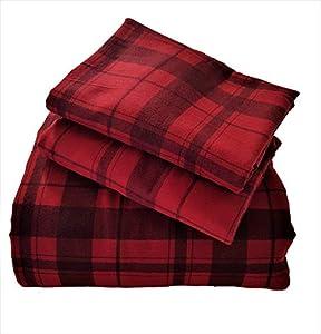 Heavyweight Cotton Flannel Queen Duvet Cover Set 520