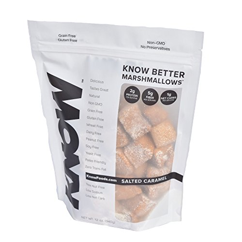 Know Foods Better Gluten Free Marshmallow  Salted Caramel  12 Ounce