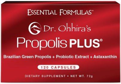 Dr. Ohhira's Propolis Plus with Brazilian Green Propolis 120 Capsules