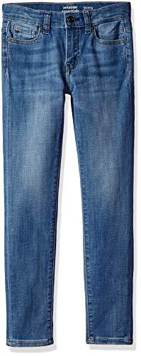 Amazon Essentials Big Girls' Skinny Jeans, Cricket/Light,10 (Slim Girls Skinny Jeans)