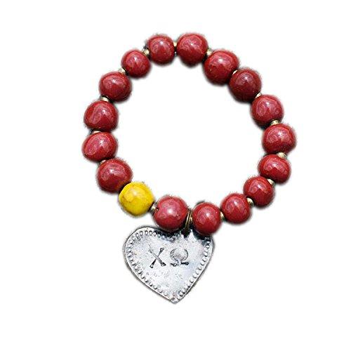 Glory Haus Chi Omega Bracelet, 3 x (Omega Bangle)