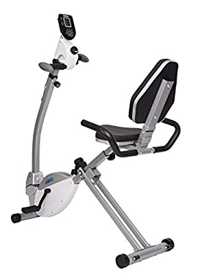 Stamina Recumbent Exercise Bike with Upper Body Exerciser