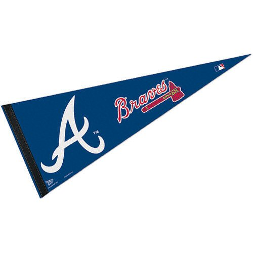 WinCraft MLB Atlanta Braves WCR63791212 Carded Classic Pennant, 12