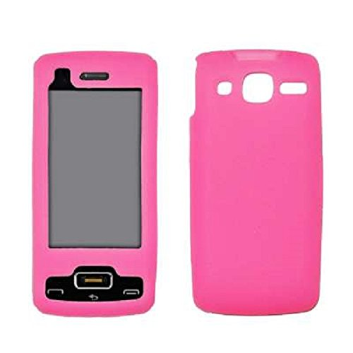 Premium Pink Silicone Gel Skin Cover Case for LG eXpo GW820 [Accessory Export - Skin Expo Lg