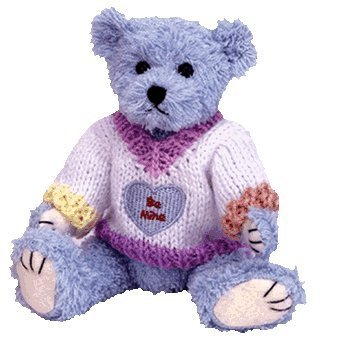 Mine Teddy Bear - Ty Attic Treasures Flynn Teddy Bear in Be Mine Valentines Sweater 8