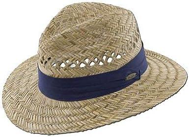 Inner Elastic Sweatband Panama Jack Safari Straw Hat 3-Pleat Ribbon Hat Band 3 Big Brim Lightweight