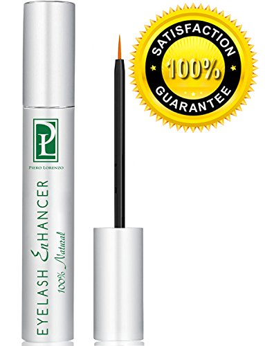 Piero Lorenzo Natural Extract Eyelash Growth Serum FEG Eyelash Enhancer for Longer, Thicker and Fuller Eyelash by Piero Lorenzo