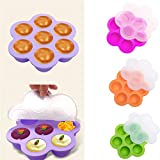 Mooka Shop 7 Holes Fits Instant Pot Silicone Egg Bites Mold For...