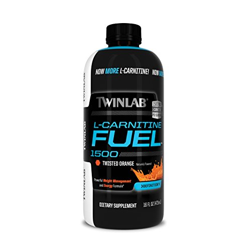 Twinlab L-Carnitine Fuel 1500, Twisted Orange, 16 Fluid Ounce