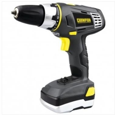 CHAMPION SAFE00140 20-Volt Li-Ion Cordless Drill Tools , Hand Tools