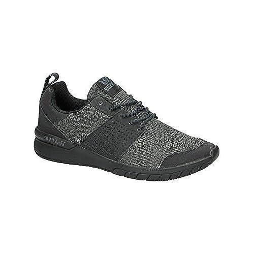 2bba6aebeac7 Supra Men s Scissor Black Black Sneaker Men s 9